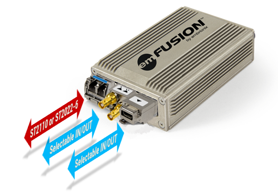emFUSION-S3-2 Standalone IP Gateway (Selectable IO