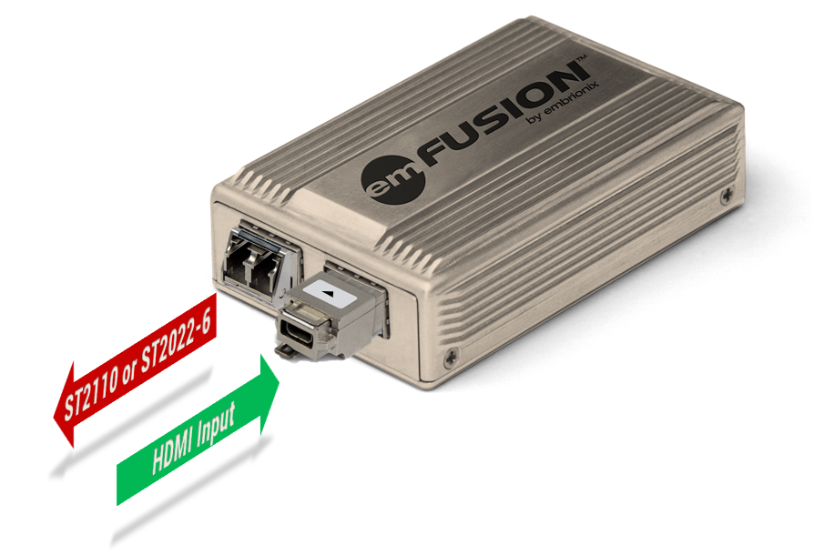 emFUSION-DMI Standalone IP Gateway (HDMI in)