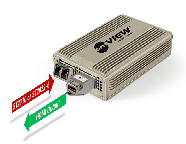 emVIEW-DMI Standalone IP Gateway (HDMI out)